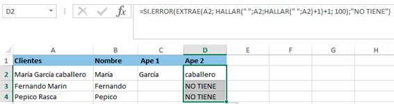 SI.ERROR en Microsoft Excel 365