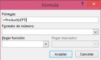 fórmulas matemáticas en microsoft Word 365